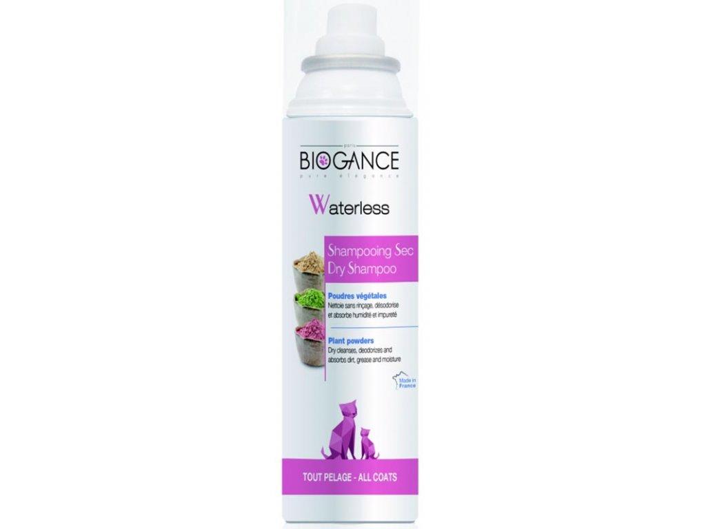 Biogance Waterless cat - suchý šampon pro kočky 150ml