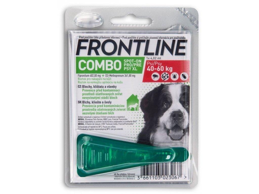 frontline combo dog xl