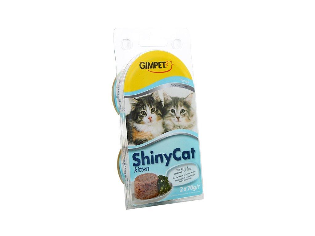 Gimpet Shiny cat konz. Junior - tuňák 2 x 70g