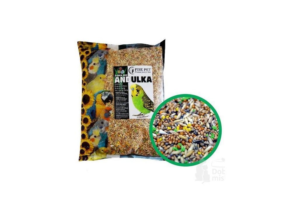 FINE PET Super Mix andulka
