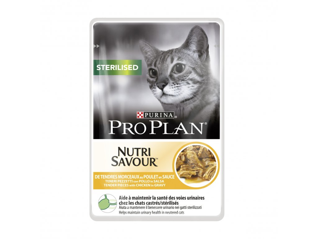 PRO PLAN Cat kaps. Sterilised Chicken 85g