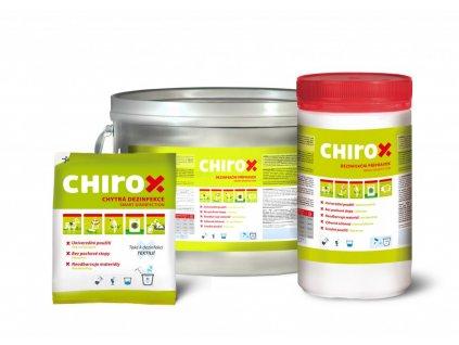 Chirox chytrá dezifekce a odstraňovač zápachu