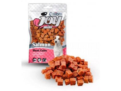 mini salmon cube