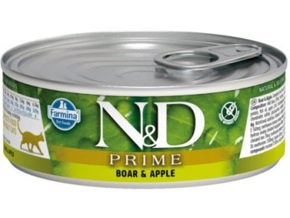 nd boar apple adult cat 80g