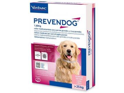 Prevendog 1,304 g medikovaný obojek pro psy 25 kg a více 2 ks