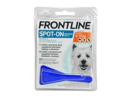 Frontline spot on S 2-10kg 1x 0,67ml