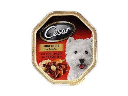 Cesar s hovězím, těstovinou a karotkou 150g