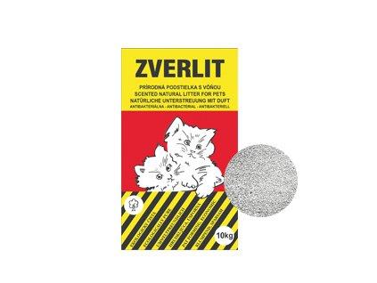 Zverlit červený / hrubá podestýlka pro kočky s vůní 10kg