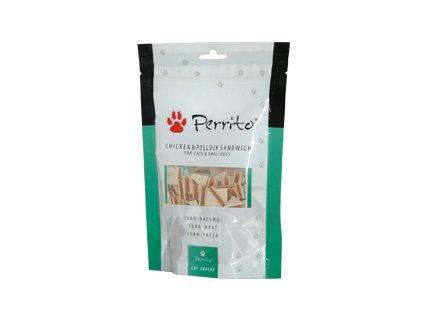 Perrito Chicken+Pollock Sandwich C/D 100g