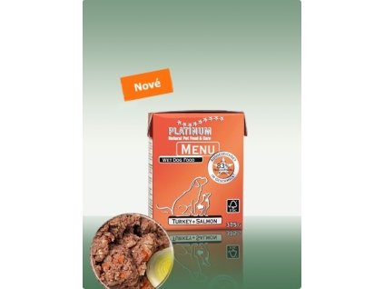 Platinum Menu Turkey & Salmon 375 g