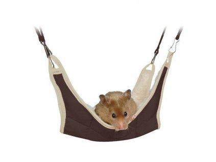 Trixie Odpočívadlo závěsné pro křečka a myš 18x18 cm