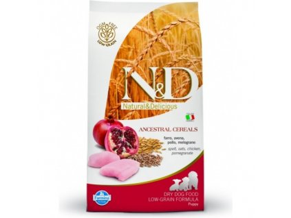 N&D LG DOG Puppy Mini Chicken & Pomegr