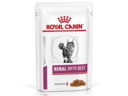 Royal Canin VD Cat Renal hovězí 12x85 g