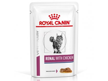 Royal Canin VD Cat Renal kuře 12 x 85 g