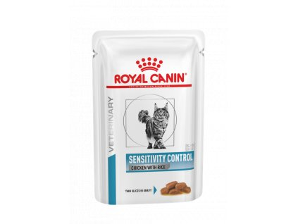 vhn dermatology sensitivity chicken cat pouch pouch packshot b1