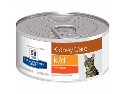 Hill's Feline K/D konzerva - hrubě mletá 156 g