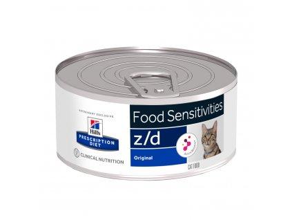 Hill's Feline Z/D konzerva Ultra Alergen Free 156 g