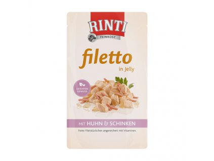Rinti Dog Filetto v želé 125g