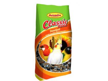 Avicentra Classic menu malý papoušek