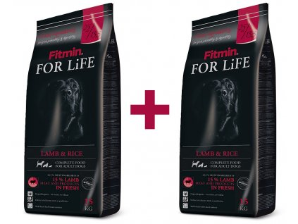 Fitmin For Life Dog Lamb & Rice 2x15kg