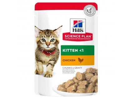 Hill's Feline Kitten Chicken + Turkey Multipack 12 x 85 g