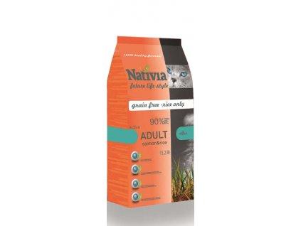Nativia Cat Adult Active Salmon & Rice