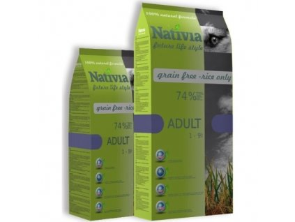 Nativia Dog Adult Chicken & Rice