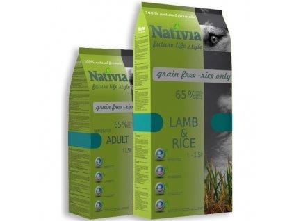 Nativia Dog Adult Lamb & Rice