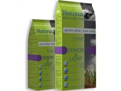 Nativia Dog Senior&Light Chicken & Rice