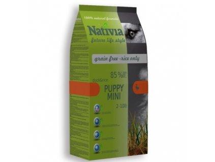 Nativia Puppy Mini Duck & Rice 3 kg