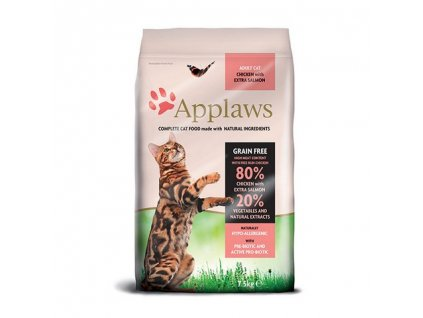 Applaws Cat Dry Adult Salmon