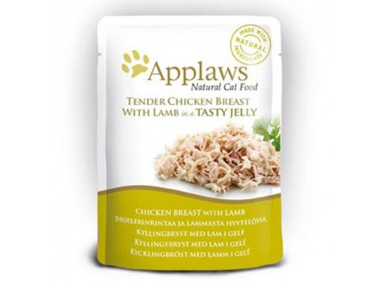 Applaws Cat kapsička kuře a jehněčí v aspiku 70g