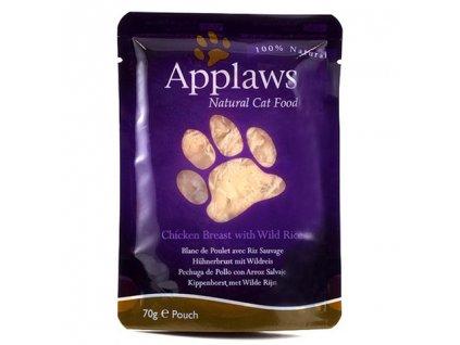 Applaws Cat kapsička kuřecí prsa a divoká rýže 70g