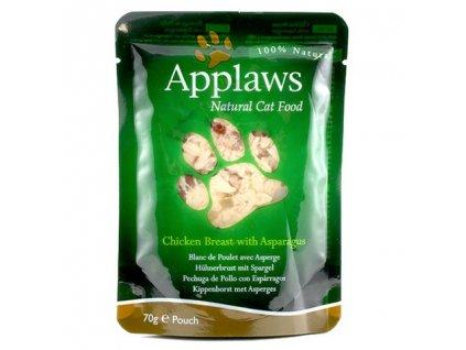 Applaws Cat kapsička kuřecí prsa a chřest 70g