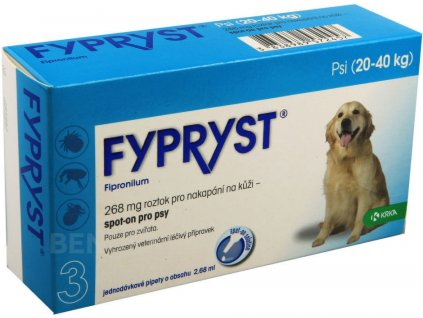 Fypryst spot on a.u.v. L (pes 20-40kg) sol 1x2,68 ml