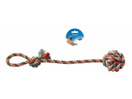 Hračka bavl. Přetahovadlo s míčkem DUVO+ 50 cm