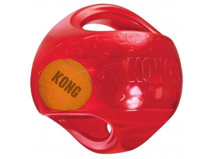 Hračka guma + tenis Jumbler míč Kong medium/large