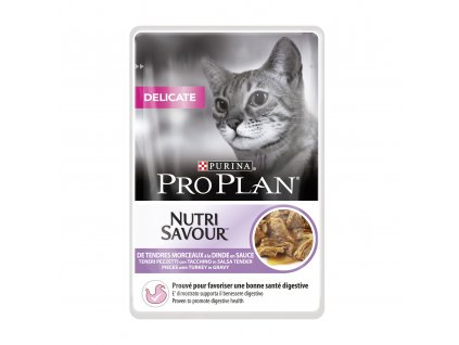 PRO PLAN Cat kaps. Delicate Turkey 85g