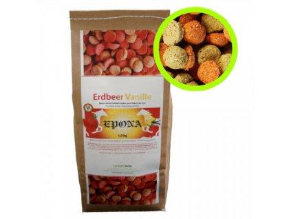 erdbeer vanille snack
