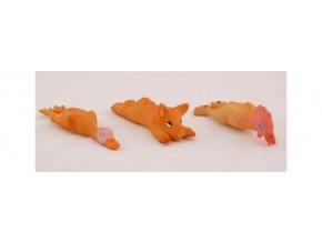 Hračka pes Kachna latex malá 14cm