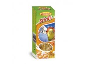 Avicentra tyčinky pro andulky - vejce+med 2ks