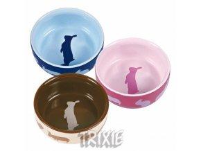 Trixie Keramická miska pro králíky 250 ml/11 cm