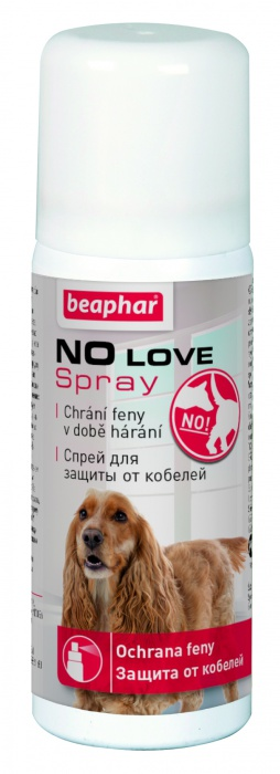 Beaphar No Love spray pro háravé feny 50ml