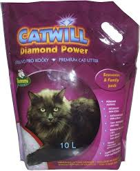 Podestýlka Catwill Diamond Power 10l