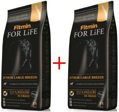Fitmin For Life Dog Junior Large 2x15kg