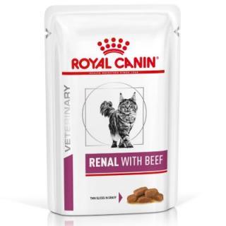 Royal Canin VD Feline Renal Hovězí 12 x 85 g