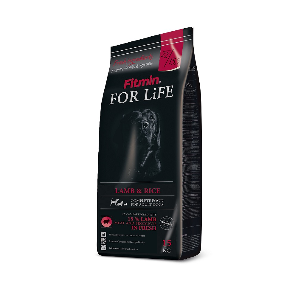 Fitmin For Life Dog Lamb & Rice 15kg