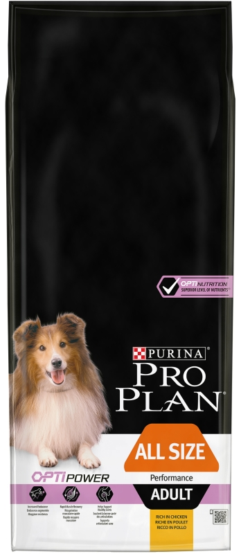 PRO PLAN ALL SIZE ADULT Performance 14kg
