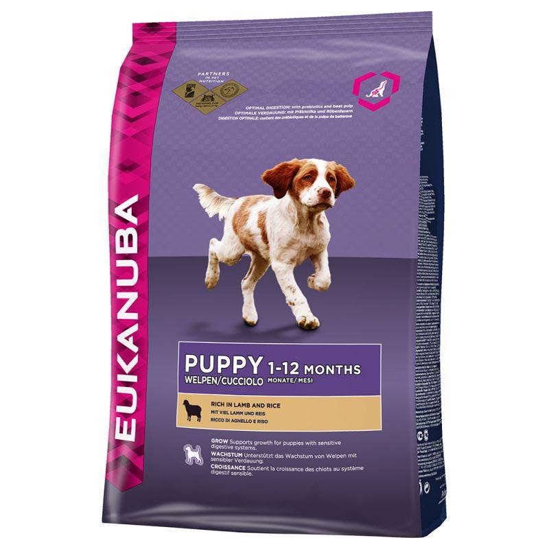 Eukanuba Puppy Lamb+Rice 12kg