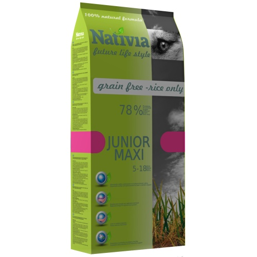 Nativia Dog Junior Maxi 15 kg